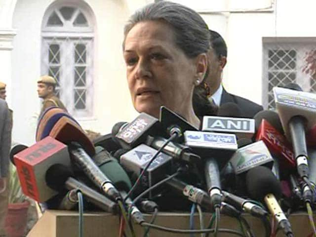 Video : Results call for deep introspection: Sonia Gandhi