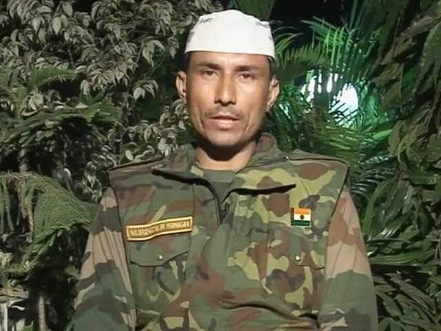 Video : Congress, BJP have no respect for India's soldiers: AAP legislator Surender Singh