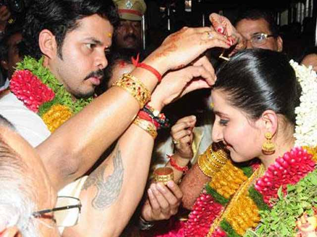 Video : Sreesanth marries his princess