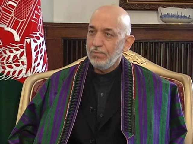 Video : US can't be aggressive, intimidatory: Afghanistan president Hamid Karzai to NDTV