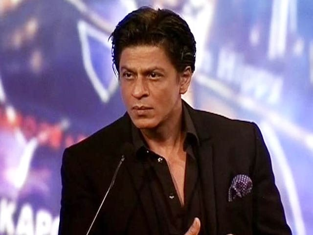 Video : Today 100 crore is the base that you start with: SRK
