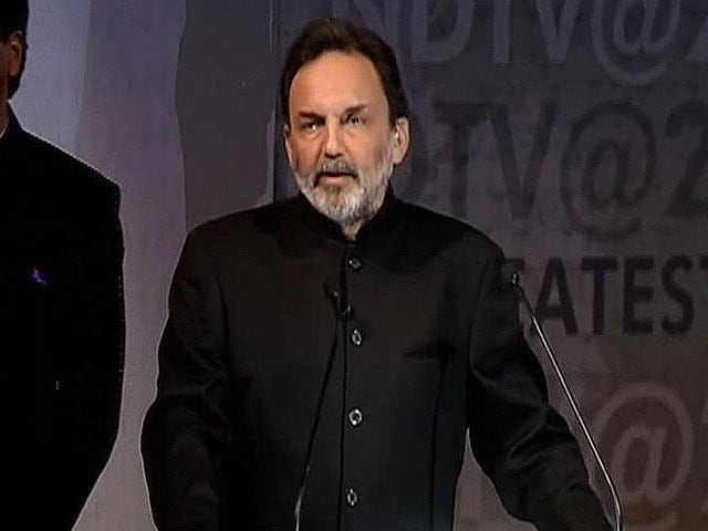 Video : Prannoy Roy's speech on 25 years of NDTV