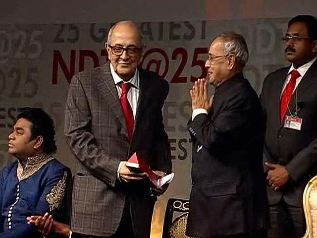 Video : I owe it all to my wife: Fali Nariman