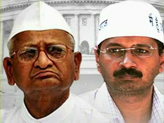 Video : Aam Aadmi Party, Team Anna tussle over Lokpal Bill
