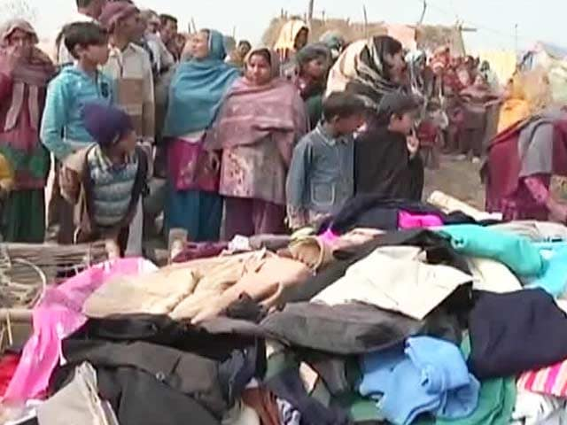 Video: NDTV-Uday Foundation collects over 1,000 blankets for the homeless