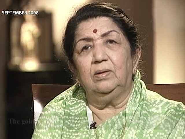 Video : My voice is a gift of nature: Lata Mangeshkar (Aired: September 2008)