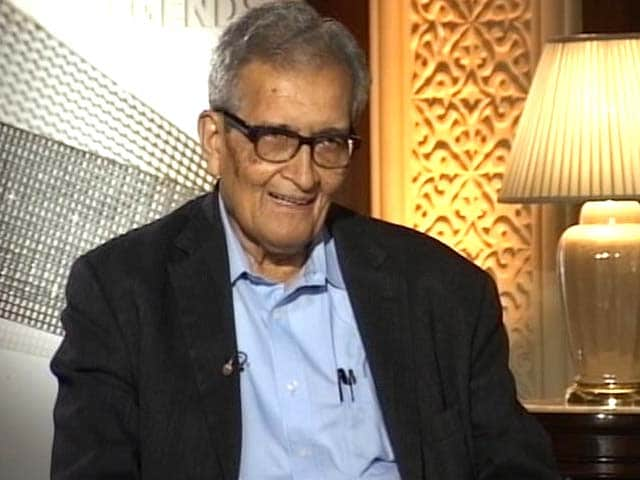 Video : Very disappointed with Supreme Court on homosexuality verdict: Amartya Sen