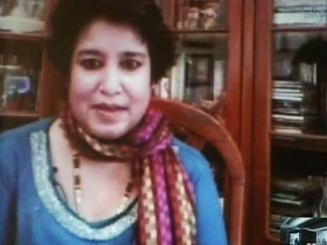 Video : Kolkata: Serial, based on Taslima Nasrin's script, runs into trouble