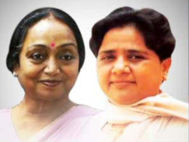 Video : Rules broken for Meira Kumar, Mayawati