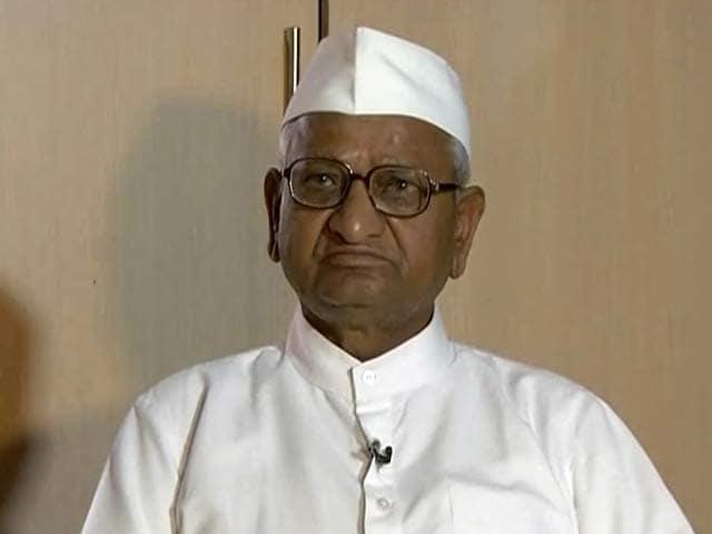 Video : Confident that Kejriwal will do good work: Anna Hazare