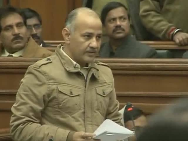 Video : AAP leader Manish Sisodia moves vote of confidence in Delhi Assembly