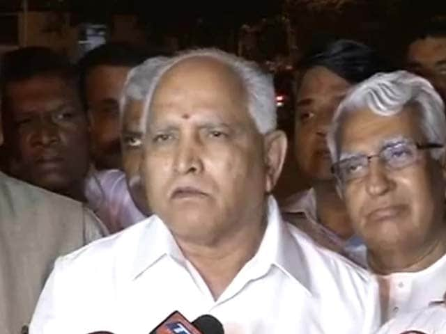 Video : BJP welcomes BS Yeddyurappa and his party back into its fold