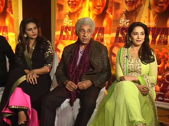 Madhuri, Naseer on misadventures of love