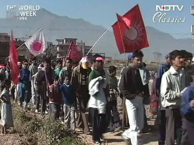 Video : The World This Week: Elections held in Nepal (Aired: November 1994)