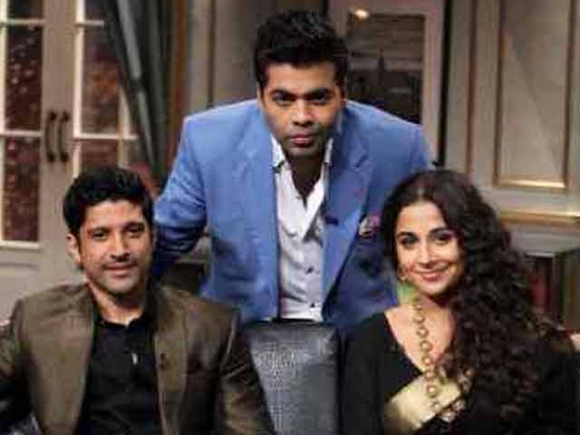 Video : Weight not an issue, says Vidya Balan on Koffee With Karan