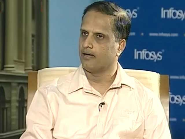 Infosys warns of 200 bps Q1 margin cut on visa, salary costs :    UB Pravin Rao, COO of  Infosys