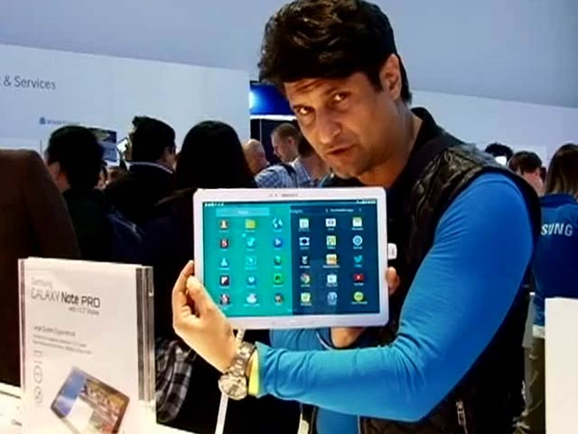 Video : CES 2014: Samsung Galaxy Note Pro