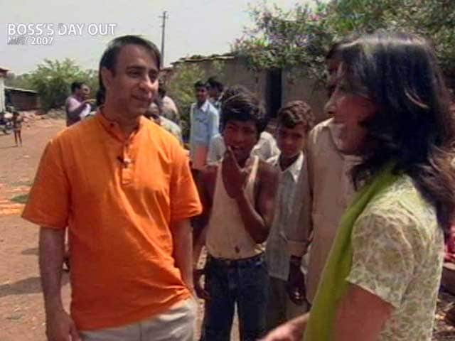 Video : Boss' Day Out: Vikram Akula of SKS Microfinance (Aired: May 2007)