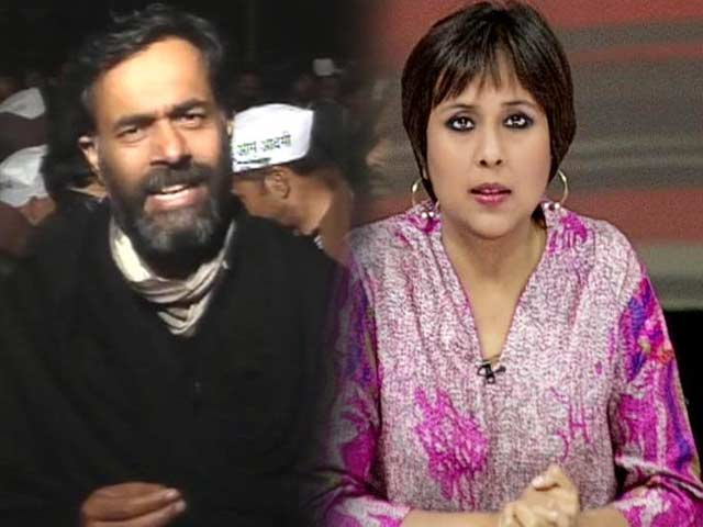 Video : Outrage over AAP's Somnath Bharti's inappropriate language