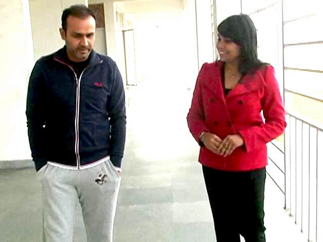 Video : Fire still burns in Sehwag, wants to play for Daredevils and Team India