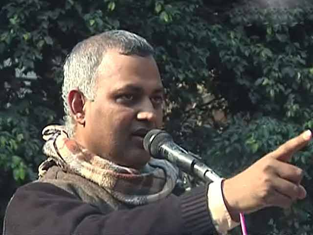 Video : Revealed: AAP minister Somnath Bharti's offensive remarks during his midnight raid