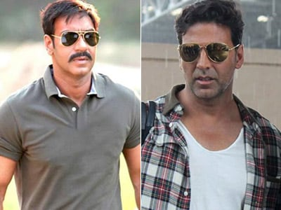 Akshay Kumar, Ajay Devgn to clash at box office