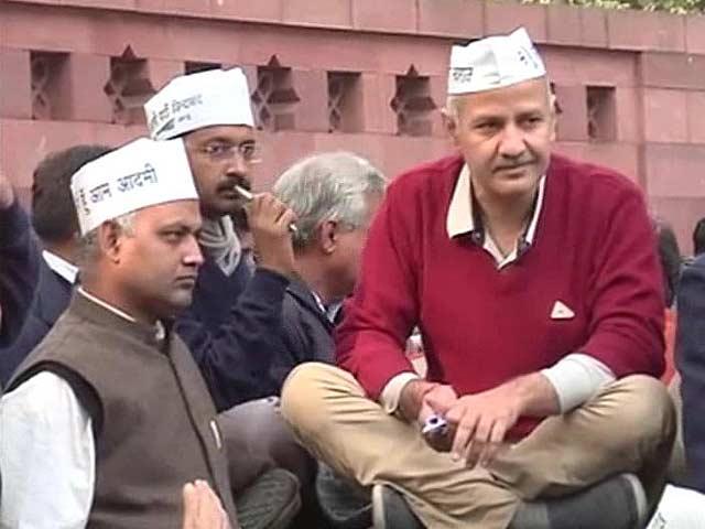 Video : AAP justifies anti-police protest