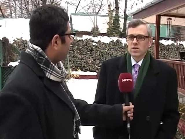 Video : Extremely disappointed with Army decision on Pathribal: Omar Abdullah to NDTV