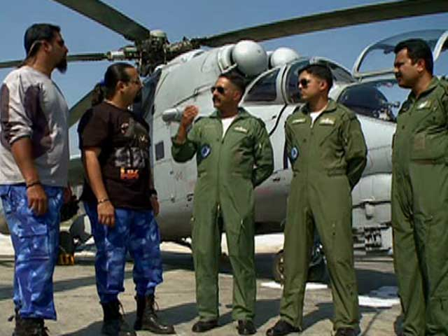 Video : Jai Hind: Firepower demonstration by Indian Air Force Attack Helicopters