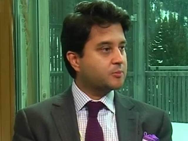 Video : Indian economy can grow at 7 per cent: Jyotiraditya Scindia
