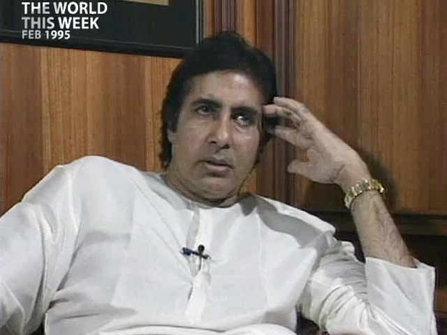Video : The World This Week: Amitabh Bachchan on turning corporate (Aired: February 1995)