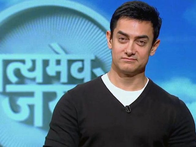 Video : Aamir on a 'recharge' mode