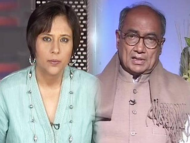 Video : Vote on Telangana Bill in this Parliament session, says Digvijaya Singh