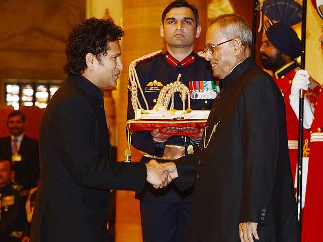 Video : Will continue to bat for India: Sachin Tendulkar after receiving Bharat Ratna