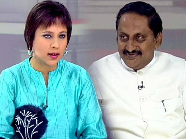 Video : Ready to quit for united Andhra Pradesh: Chief Minister Kiran Reddy to NDTV