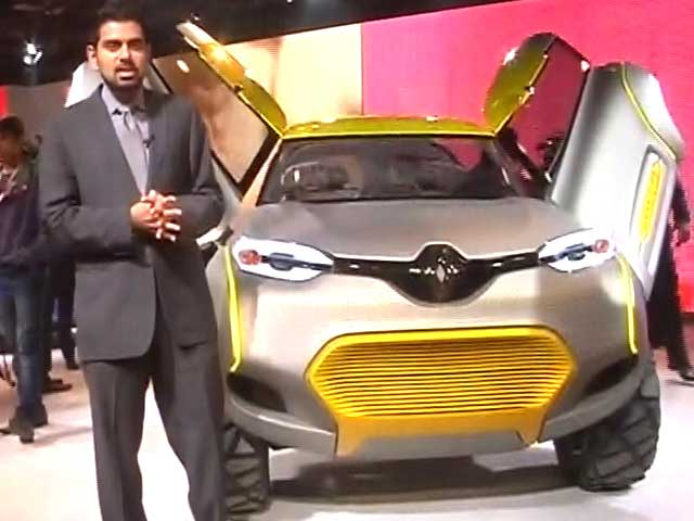 Auto Expo: Renault makes statement with KWID concept