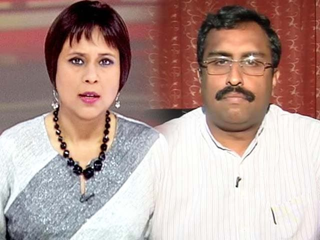 Video : RSS spokesperson Ram Madhav to NDTV on Aseemanand's allegations