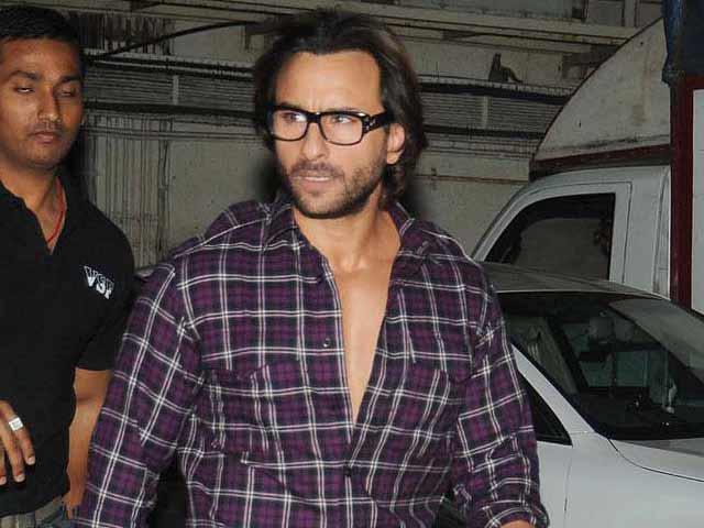 Saif Ali Khan out of Race?