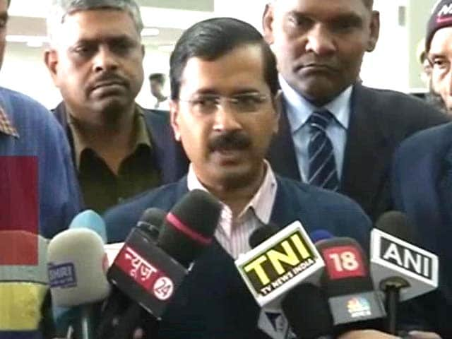 Video : For Arvind Kejriwal and Lieutenant Governor, finally, a point of agreement