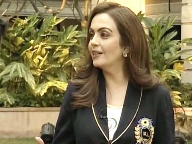 Video : Sachin was advising us on auction: Nita Ambani to NDTV