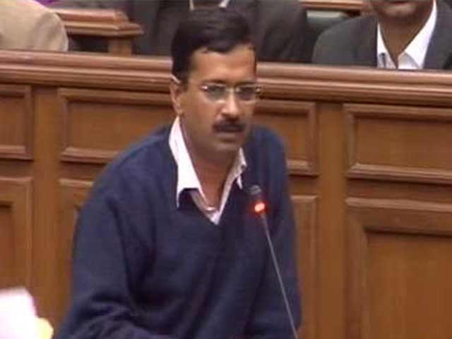 Video : Upset at papers being torn, mikes being trashed, says Kejriwal