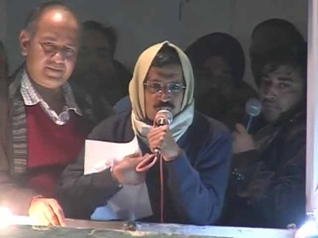 Video : Kejriwal's resignation speech at AAP headquarters