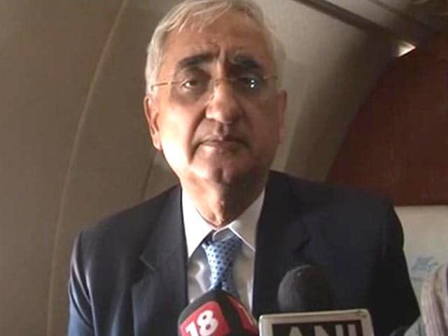 Video : AAP squandered 'impressive victory': Salman Khurshid