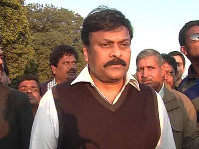 Video : Seemandhra issues not addressed: Chiranjeevi