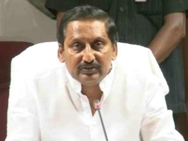 Video : Telangana Bill likely in Rajya Sabha today; Kiran Kumar Reddy to resign