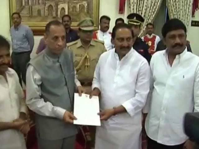 Video : Telangana row: Kiran Reddy resigns as chief minister, quits Congress
