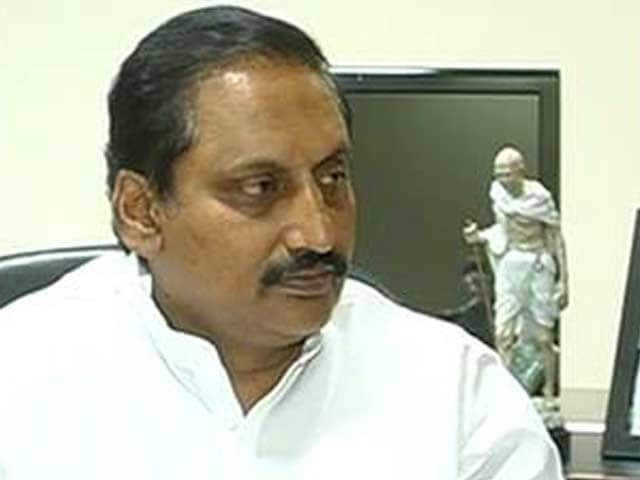 Video : Bifurcating Andhra Pradesh for political gains is wrong: Kiran Reddy after resigning as chief minister