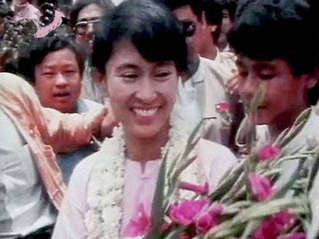 Video : Aung San Suu Kyi: Free at last (Aired: July 1995)