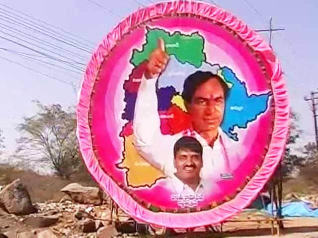 Video : Ahead of elections, fight over credit for Telangana