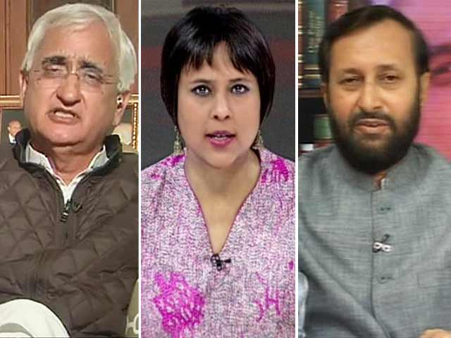 Video : Salman Khurshid vs BJP: 'Nothing wrong in calling Narendra Modi <i>napunsak</i>'